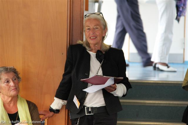 Ute-Karin Höllrigl als Vortragende