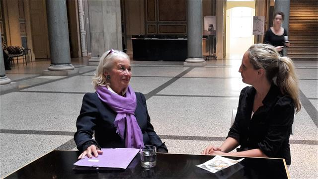 Ute-Karin Höllrigl im Interview